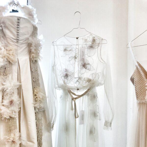 abito da sposa primaverile